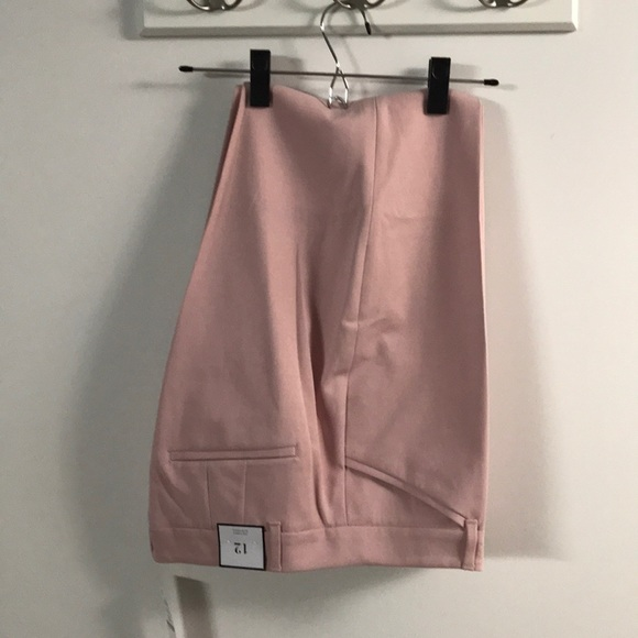 White House Black Market Pants - Light pink slim ankle trousers